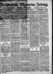 Norddeutsche allgemeine Zeitung (23.02.1889)