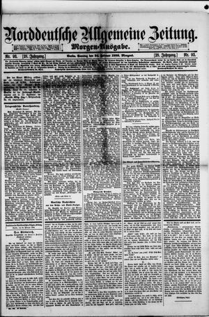 Norddeutsche allgemeine Zeitung on Feb 24, 1889