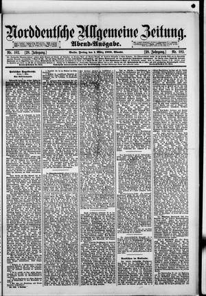 Norddeutsche allgemeine Zeitung vom 01.03.1889