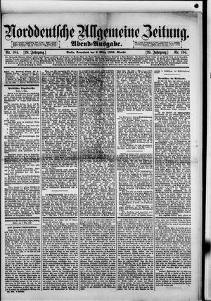 Norddeutsche allgemeine Zeitung vom 02.03.1889