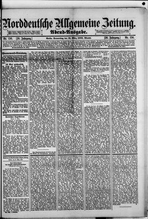 Norddeutsche allgemeine Zeitung vom 21.03.1889