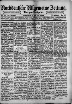 Norddeutsche allgemeine Zeitung vom 29.03.1889