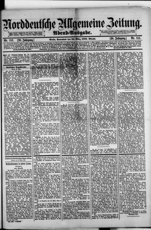 Norddeutsche allgemeine Zeitung on Mar 30, 1889