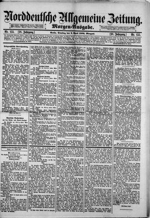 Norddeutsche allgemeine Zeitung vom 02.04.1889