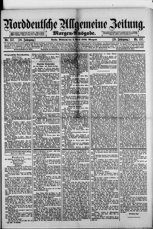 Norddeutsche allgemeine Zeitung vom 03.04.1889