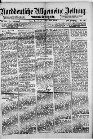 Norddeutsche allgemeine Zeitung vom 04.04.1889