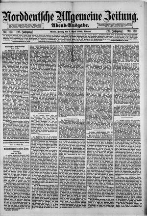 Norddeutsche allgemeine Zeitung vom 05.04.1889