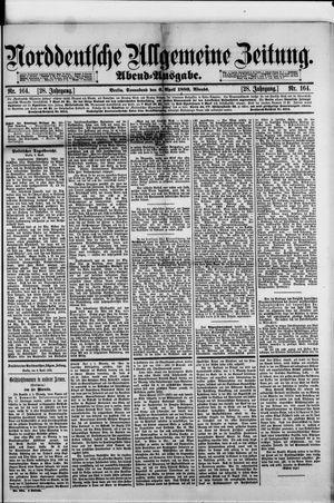 Norddeutsche allgemeine Zeitung on Apr 6, 1889