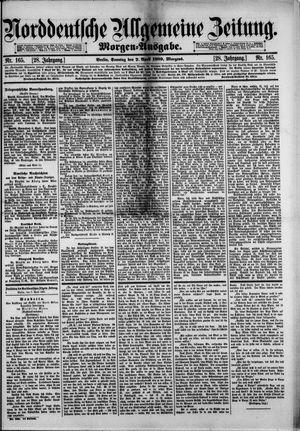 Norddeutsche allgemeine Zeitung on Apr 7, 1889