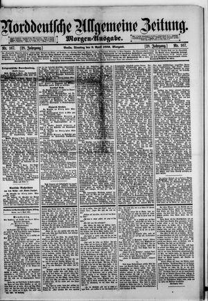 Norddeutsche allgemeine Zeitung vom 09.04.1889