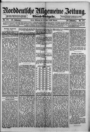 Norddeutsche allgemeine Zeitung on Apr 10, 1889
