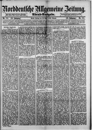 Norddeutsche allgemeine Zeitung vom 12.04.1889