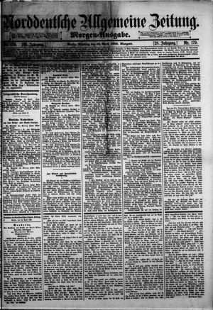 Norddeutsche allgemeine Zeitung vom 16.04.1889