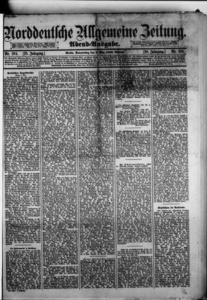 Norddeutsche allgemeine Zeitung vom 02.05.1889