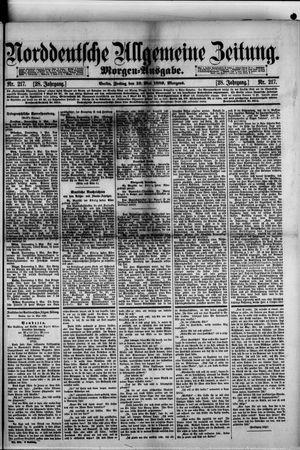 Norddeutsche allgemeine Zeitung vom 10.05.1889