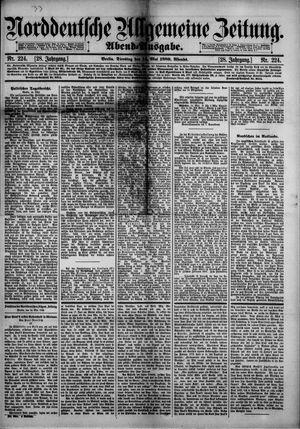 Norddeutsche allgemeine Zeitung vom 14.05.1889