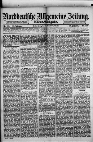 Norddeutsche allgemeine Zeitung vom 17.05.1889
