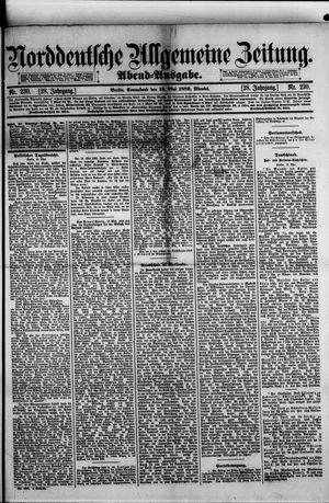 Norddeutsche allgemeine Zeitung vom 18.05.1889