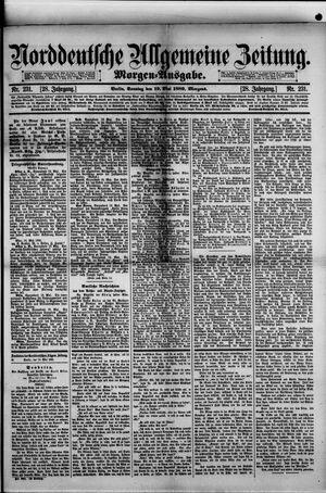 Norddeutsche allgemeine Zeitung vom 19.05.1889