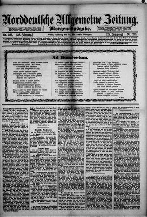 Norddeutsche allgemeine Zeitung vom 21.05.1889