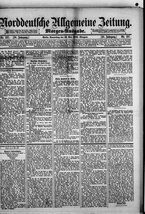 Norddeutsche allgemeine Zeitung vom 23.05.1889
