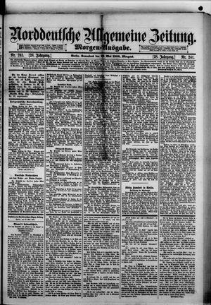 Norddeutsche allgemeine Zeitung vom 25.05.1889