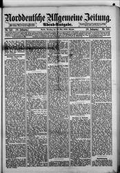 Norddeutsche allgemeine Zeitung (28.05.1889)
