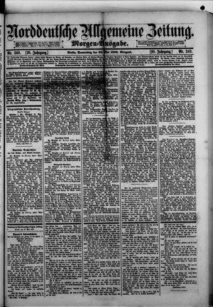 Norddeutsche allgemeine Zeitung vom 30.05.1889
