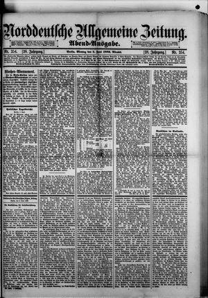 Norddeutsche allgemeine Zeitung vom 03.06.1889