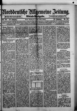 Norddeutsche allgemeine Zeitung vom 04.06.1889