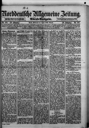 Norddeutsche allgemeine Zeitung vom 05.06.1889