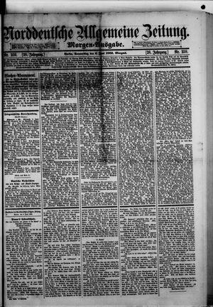 Norddeutsche allgemeine Zeitung vom 06.06.1889