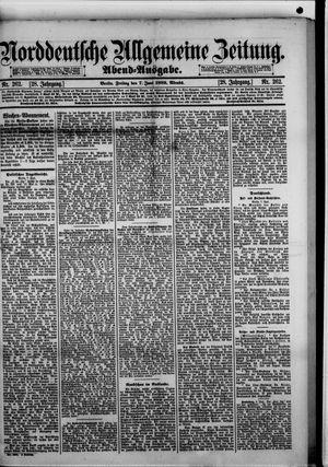Norddeutsche allgemeine Zeitung vom 07.06.1889