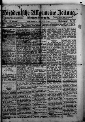 Norddeutsche allgemeine Zeitung on Jun 9, 1889