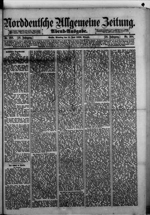 Norddeutsche allgemeine Zeitung vom 11.06.1889