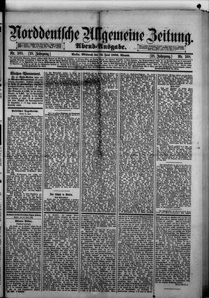 Norddeutsche allgemeine Zeitung vom 12.06.1889