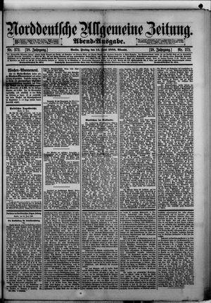Norddeutsche allgemeine Zeitung vom 14.06.1889