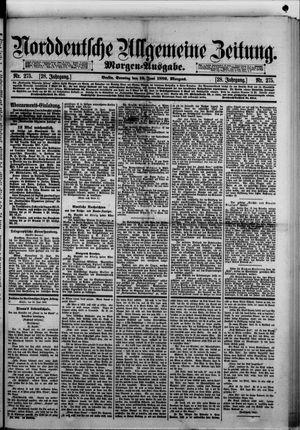 Norddeutsche allgemeine Zeitung vom 16.06.1889