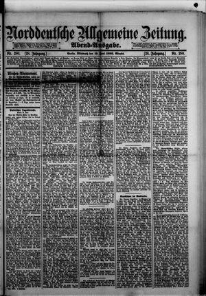 Norddeutsche allgemeine Zeitung vom 19.06.1889