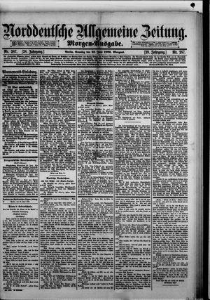 Norddeutsche allgemeine Zeitung vom 23.06.1889