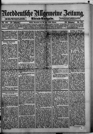 Norddeutsche allgemeine Zeitung vom 29.06.1889