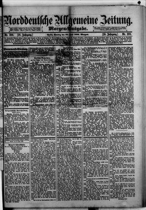 Norddeutsche allgemeine Zeitung on Jun 30, 1889