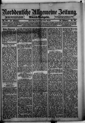 Norddeutsche allgemeine Zeitung vom 01.07.1889