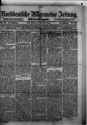 Norddeutsche allgemeine Zeitung vom 03.07.1889