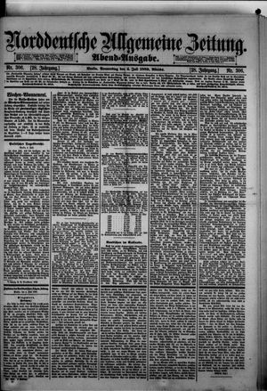 Norddeutsche allgemeine Zeitung vom 04.07.1889