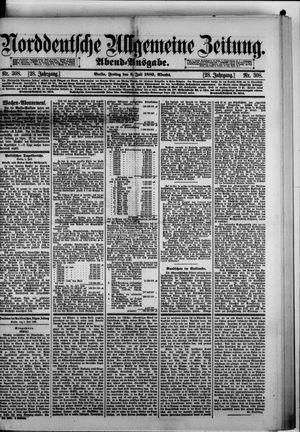 Norddeutsche allgemeine Zeitung vom 05.07.1889