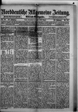 Norddeutsche allgemeine Zeitung vom 06.07.1889