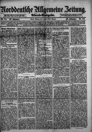 Norddeutsche allgemeine Zeitung vom 08.07.1889