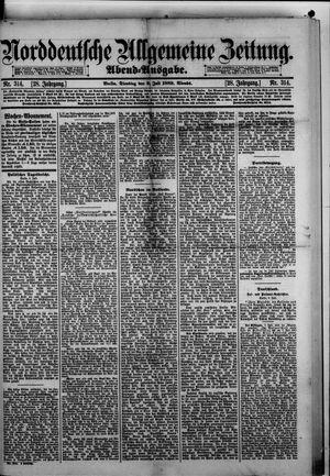Norddeutsche allgemeine Zeitung vom 09.07.1889