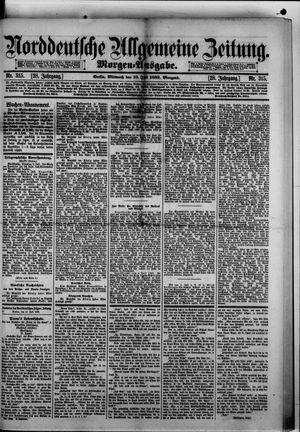 Norddeutsche allgemeine Zeitung vom 10.07.1889
